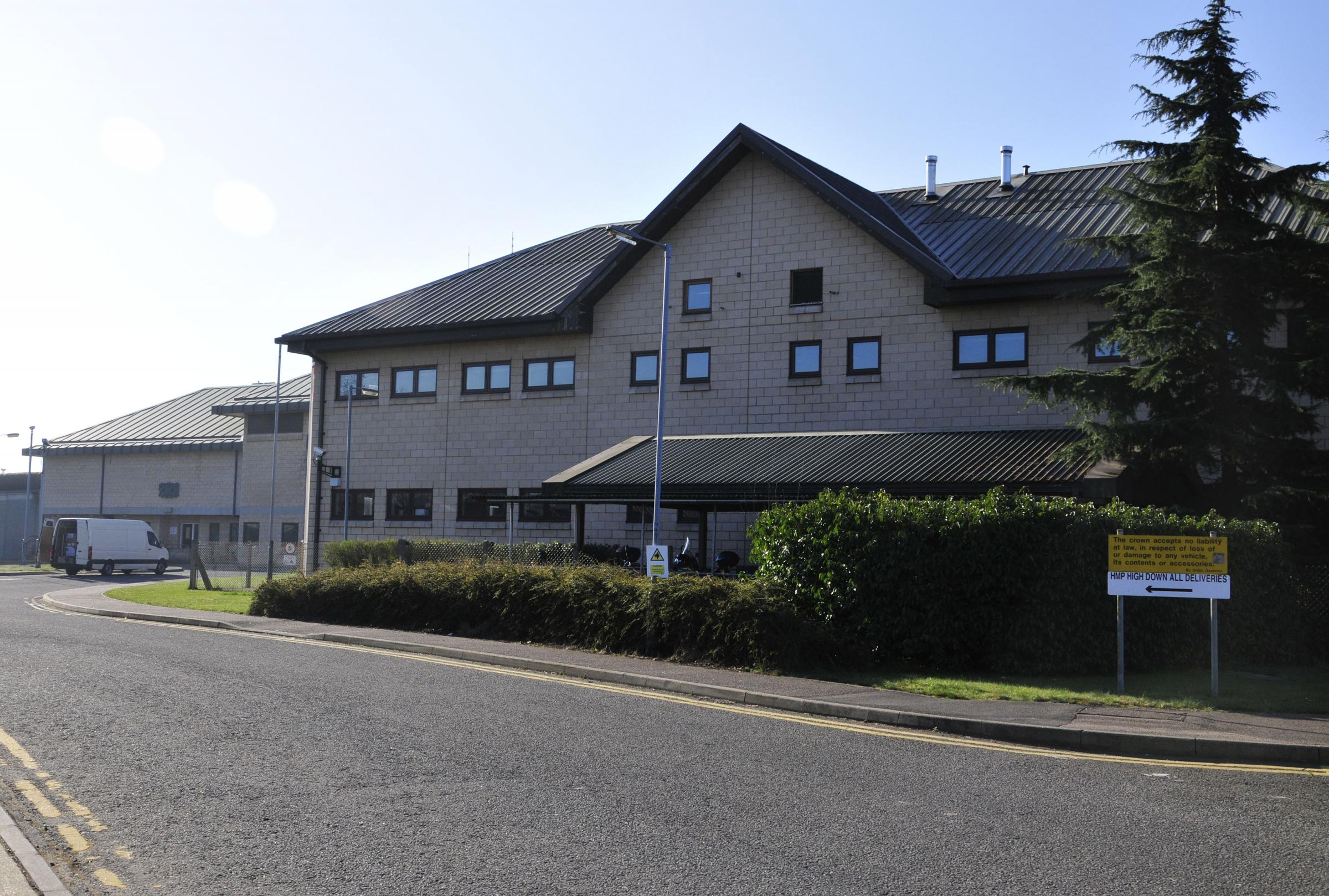 High Down prison, in Banstead, is currently understaffed by 28 prison officer positions