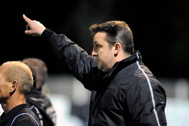 Moulded: Walton & Hersham boss James Cameron can now call his team his own
