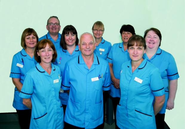 Matrons at Epsom and St Helier University Hospitals NHS Trust
