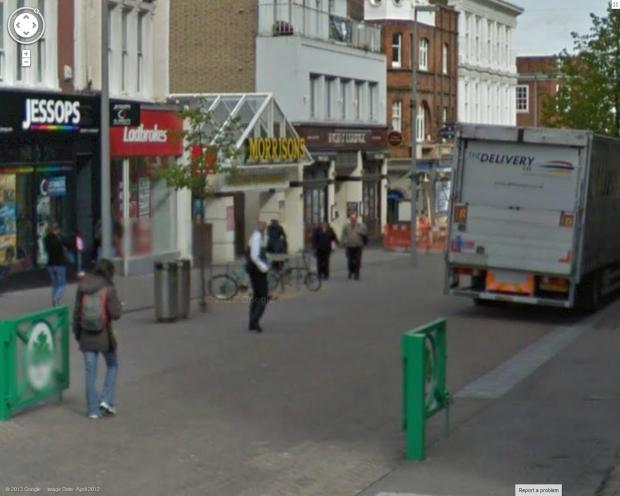 Morrison's supermarket in Sutton High Street (Picture: Google)