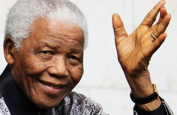 Nelson Mandela died at 95 years of age.