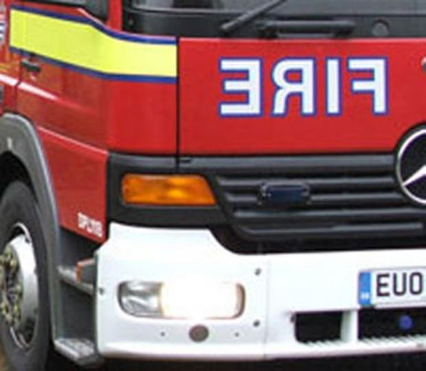 A homeowner had a 'lucky' escape from a kitchen fire in Denmark Road, Carshalton