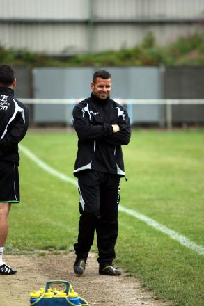 Happy times: Whyteleafe boss John Fowler