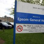 Sutton Guardian: Visitors to Epsom Hospital witnessed an operation taking place through a window
