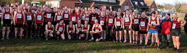 All winners: More than 125 Herne Hill Harriers from past and present turned out last weekend to celebrate the club's 125th birthday, incl