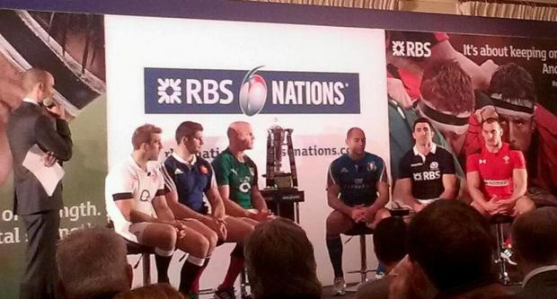 The Six Nations' captains discuss the tournament