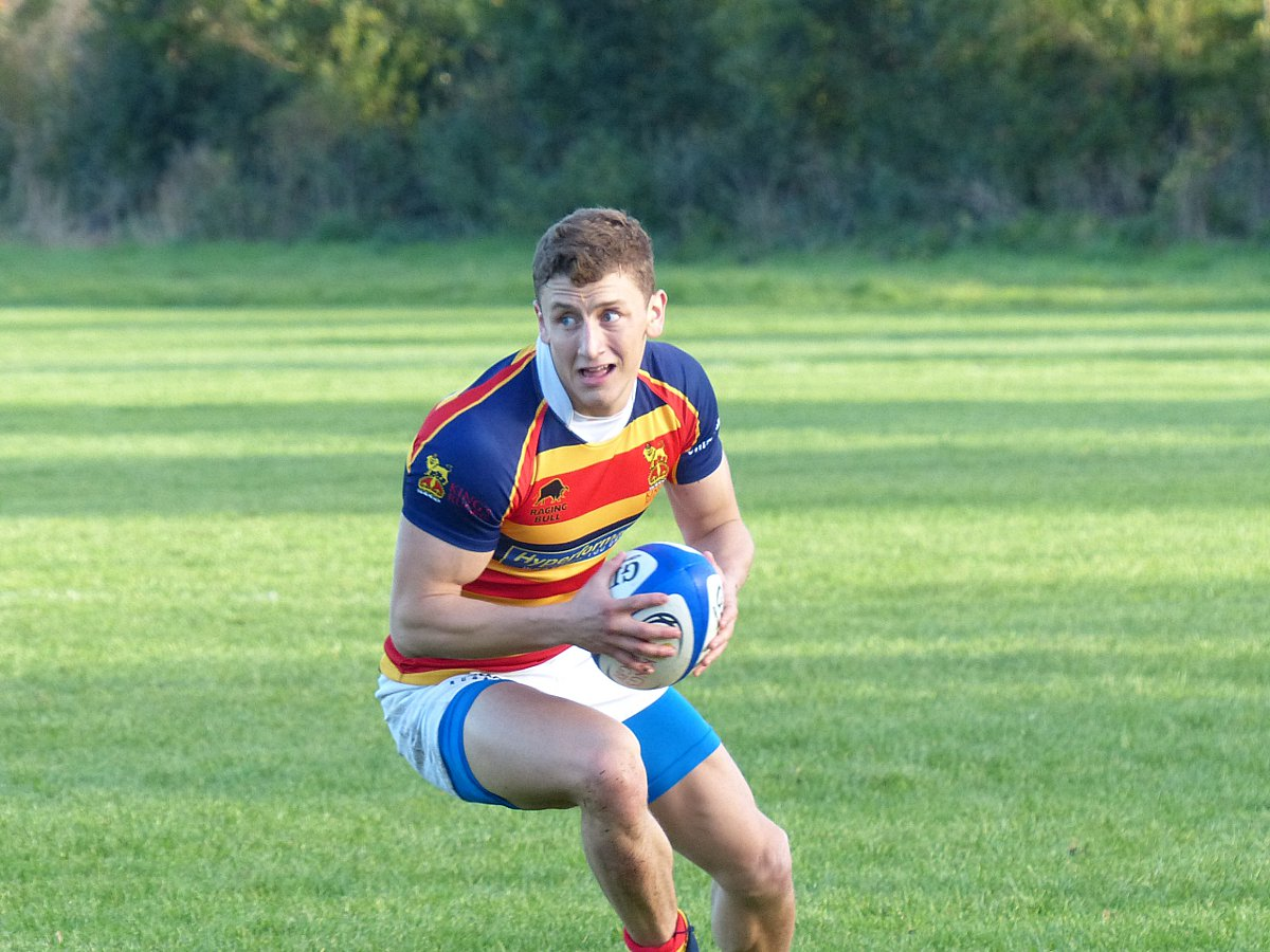 Key man: Winger Gareth Stoppani has been in fine form for KCS, scoring nine tries this season already