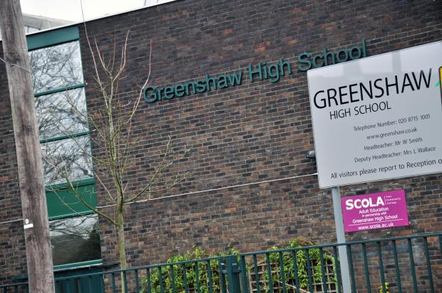 The meeting will be held at Greenshaw High School