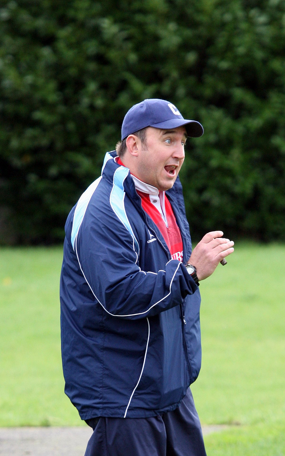 Called into action: Warlingham head coach Ben Stobart