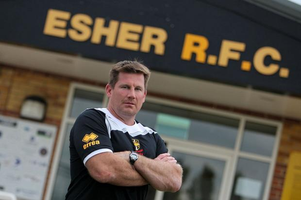 Opposed: Esher chief executive Mike Schmid is anti the new RFU ruling on mini rugby