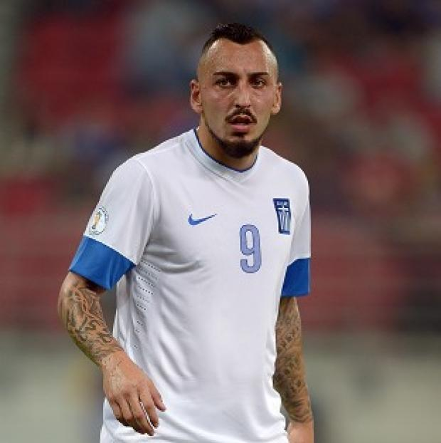 Sutton Guardian: Kostas Mitroglou will play for Greece at the 2014 World Cup