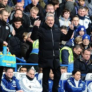 Chelsea's Manager Jose Mourinho, pictured, has hit back at Manuel Pellegrini