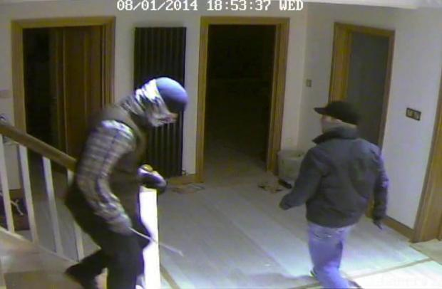 Sutton Guardian: SUTT YELL: Hapless burglars who broke into a house and did not steal anything caught on CCTV