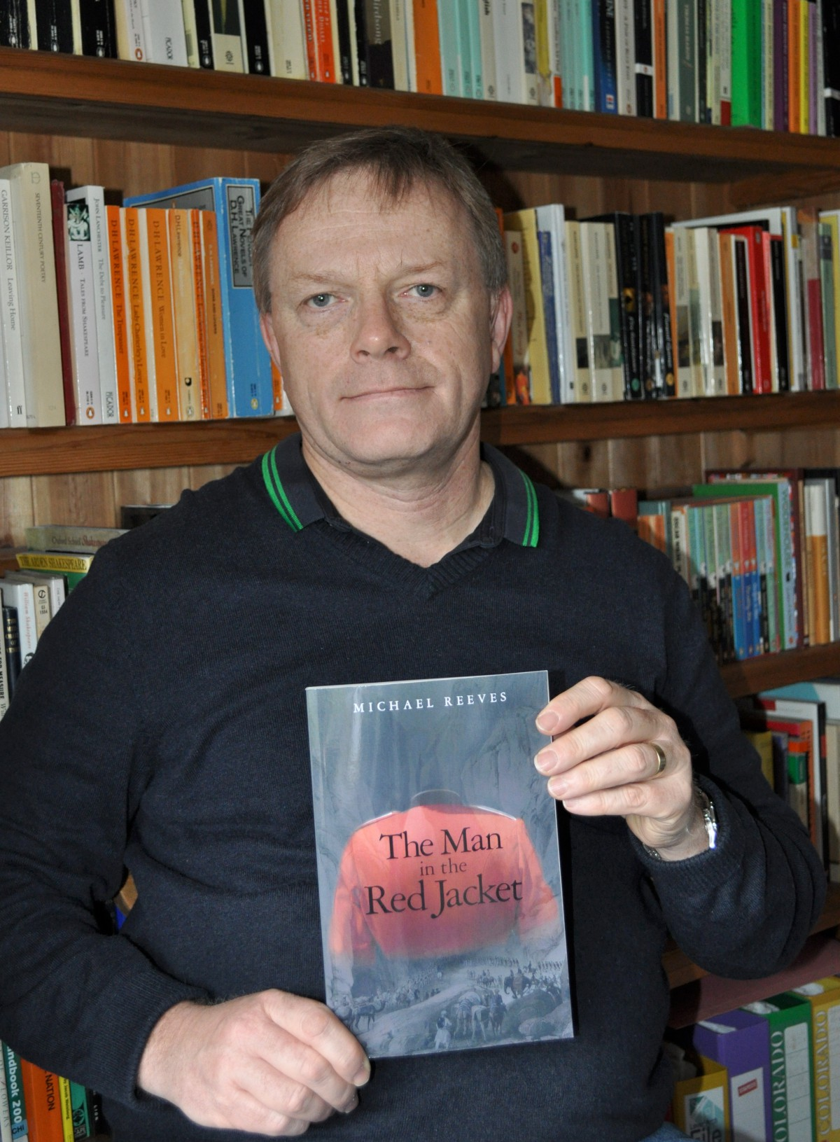 Sutton author Michael Reeves