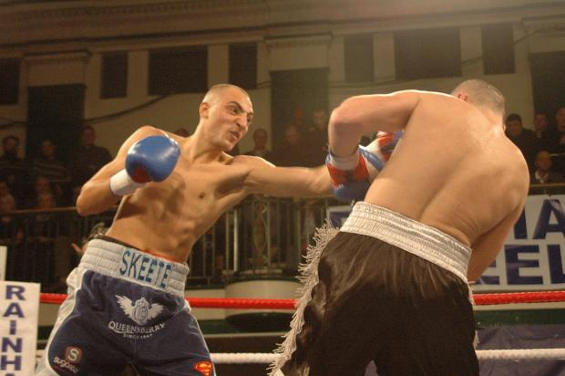 Winner: Bradley Skeete is now 15 bouts unbeaten, but he did not face the opponent he was hoping for