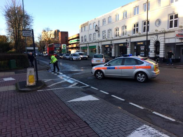 Crash causes traffic jams in Brighton Road