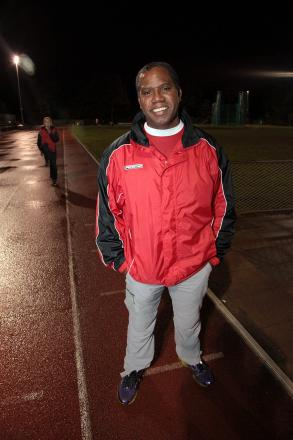 Proud: Herne Hill Harriers coach James McDonald
