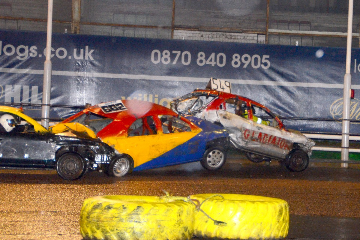 Smash, bang, wallop: The national bangers will be in action tonight