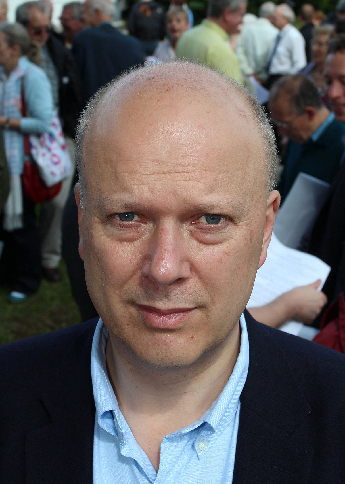 Chris Grayling, MP for Epsom, and Secretary of State for Justice
