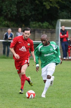 Opener: Roscoe DSane go Leafe up and running in the 4-1 win over Beckenham on Thursday night                SP79008