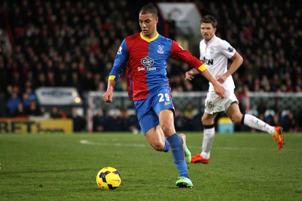 Doubt: Marouane Chamakh faces a late fitness test ahead of this afternoon's Premier League visit of Manchester City