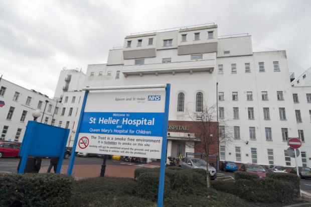 Sutton Guardian: St Helier Hospital