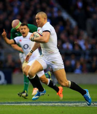 Man of the moment: Quins full back Mike Brown has starred for England in the Six Nations    Picture: David Cannon/Getty Images