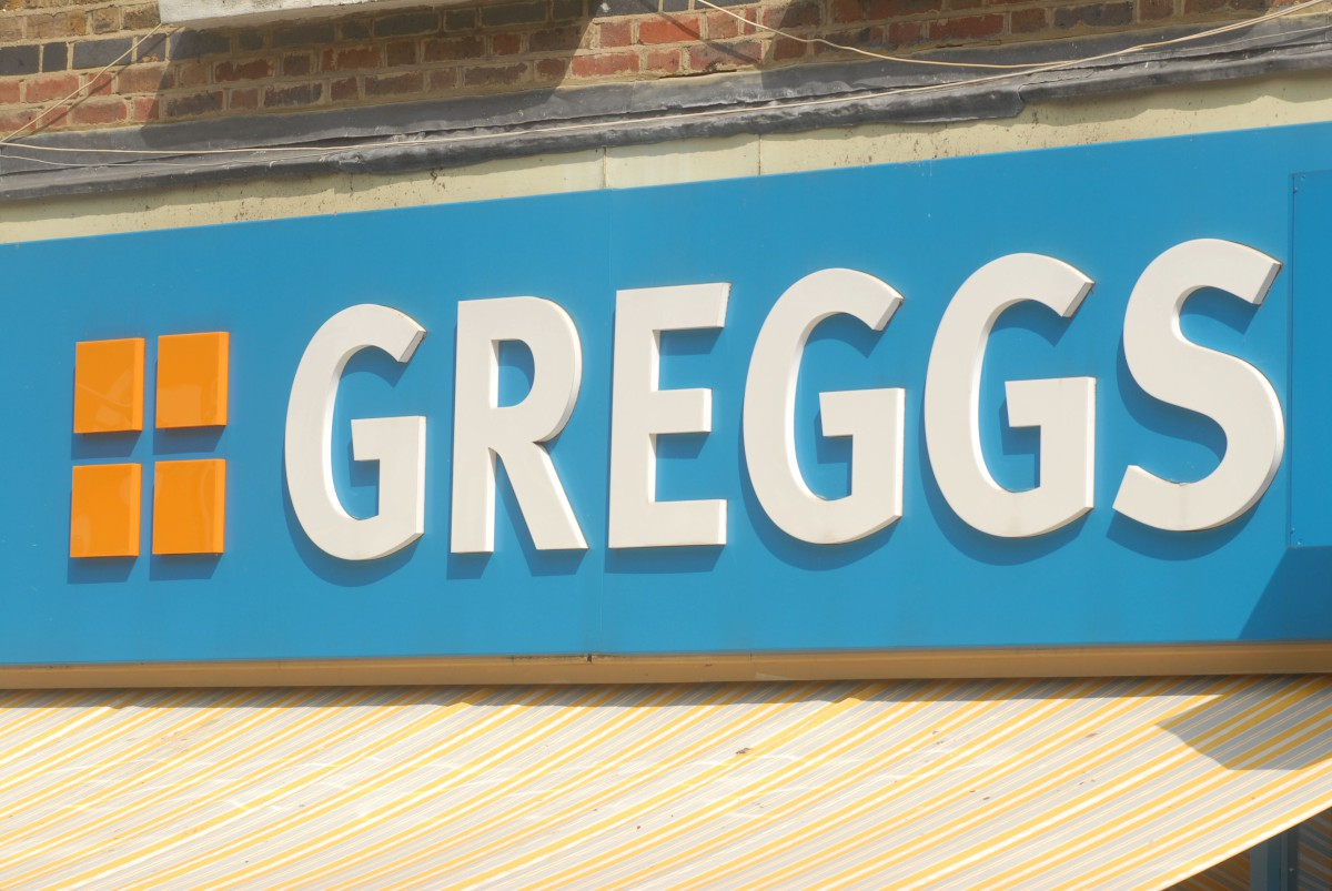 Greggs was forced to throw out food after 20 minutes.