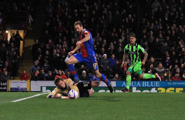 How it used to be: Glenn Murray was unstoppable last season, and fans expectations have been raised for this season