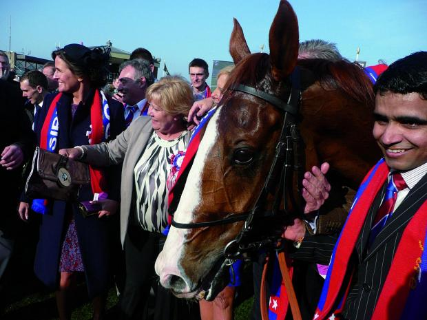 Can Sire De Grugy win again?