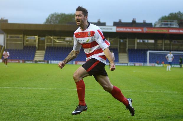 On song: Ryan Moss has scored five goals in his past six appearances for Kingstonian