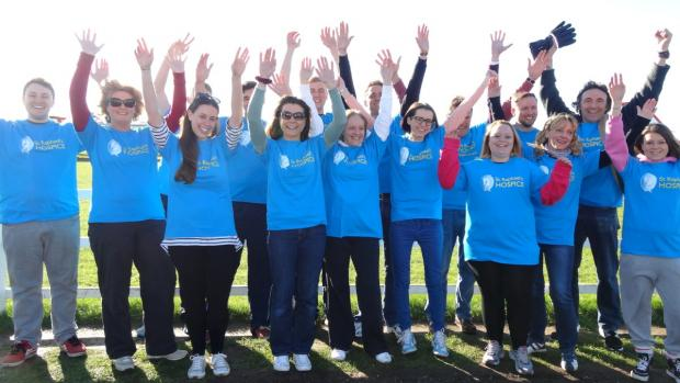 Ready to jump: fearless fundraisers at the Salisbury airfield
