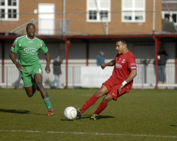 Gone: Jordan Wilson has left Colston Avenue for Grays Athletic             SP81896