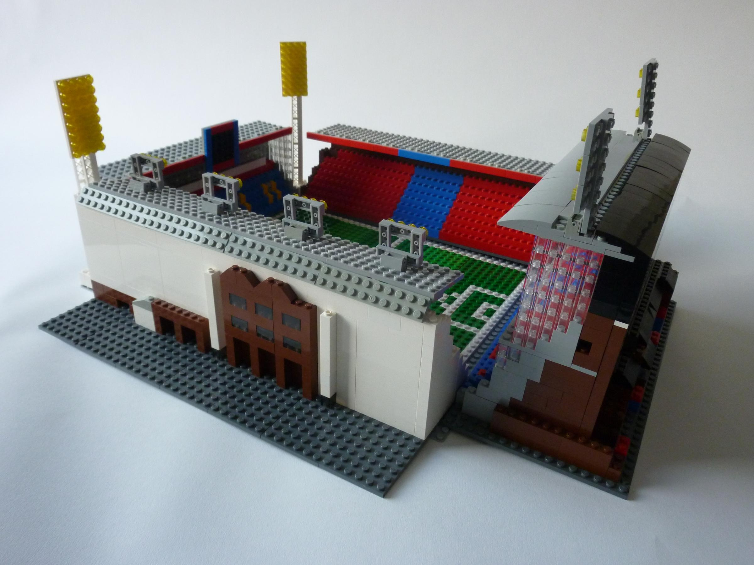 Welcome to Selhurst Park - made from Lego