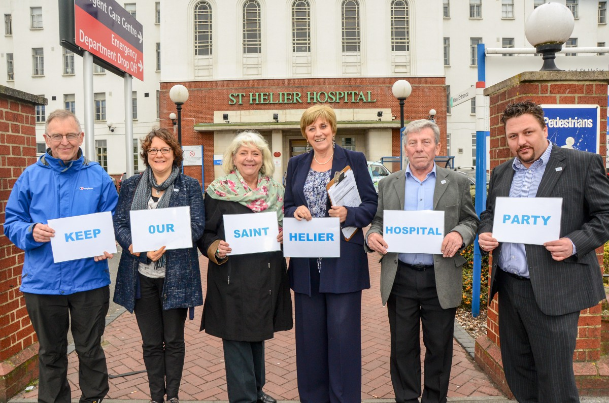 Keep Our St Helier Hospital Party candidates