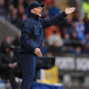 Tony Pulis has led Crystal Palace up the table