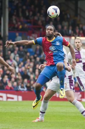 Going back to the Potteries? Cameron Jerome in action in the 1-0 win over Aston Villa earlier this month