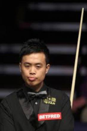 Momentum: Marco Fu goes into today's conclusion of his second round tie with Shaun Murphy 9-7 behind, but having won three of the past four frames