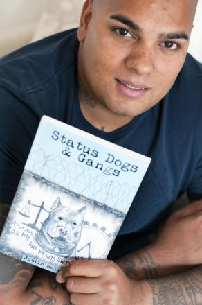 A former gang leader who sold pitbull terriers has turned his life around and written a book about dangerous dogs