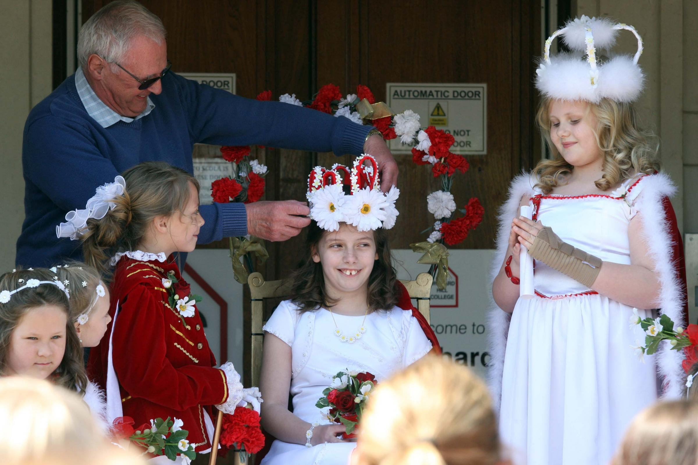Traditional Ceremony: 9-year-old Annabel Jon