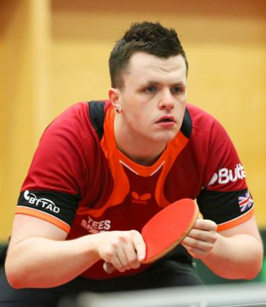 Silver bound: Wandsworth's Aaron McKibbin won team silver at the Slovenia Open