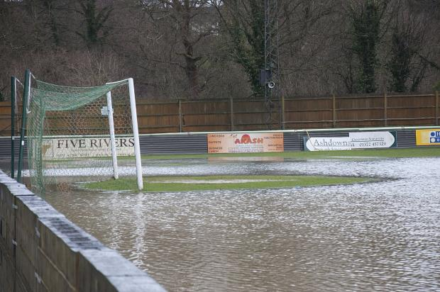 The way we were: The winter floods almost put paid to Leatherhead's promotion hopes, but the fears proved unfounded