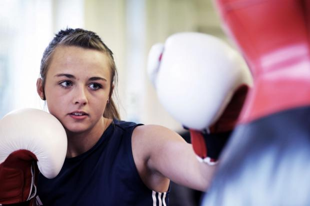 There is a ladies' boxing bootcamp at Overton Park on Saturday