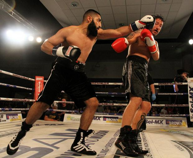 Welcome back: Huzaifah Iqba returns to the ring this weekend after injury