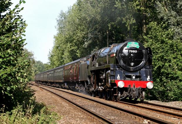 Do the locomotion: Let off some steam in July