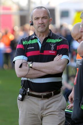Pleased: Quins director of rugby Conor O'Shea