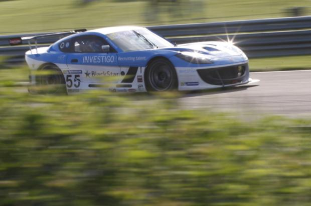 Back on the track: Charlie Robertson returns to action this weekend at Oulton Park in the latest round of the Michelin Ginetta GT4 SuperCup