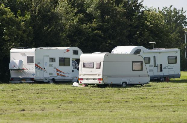 The travellers on Rosehill Park