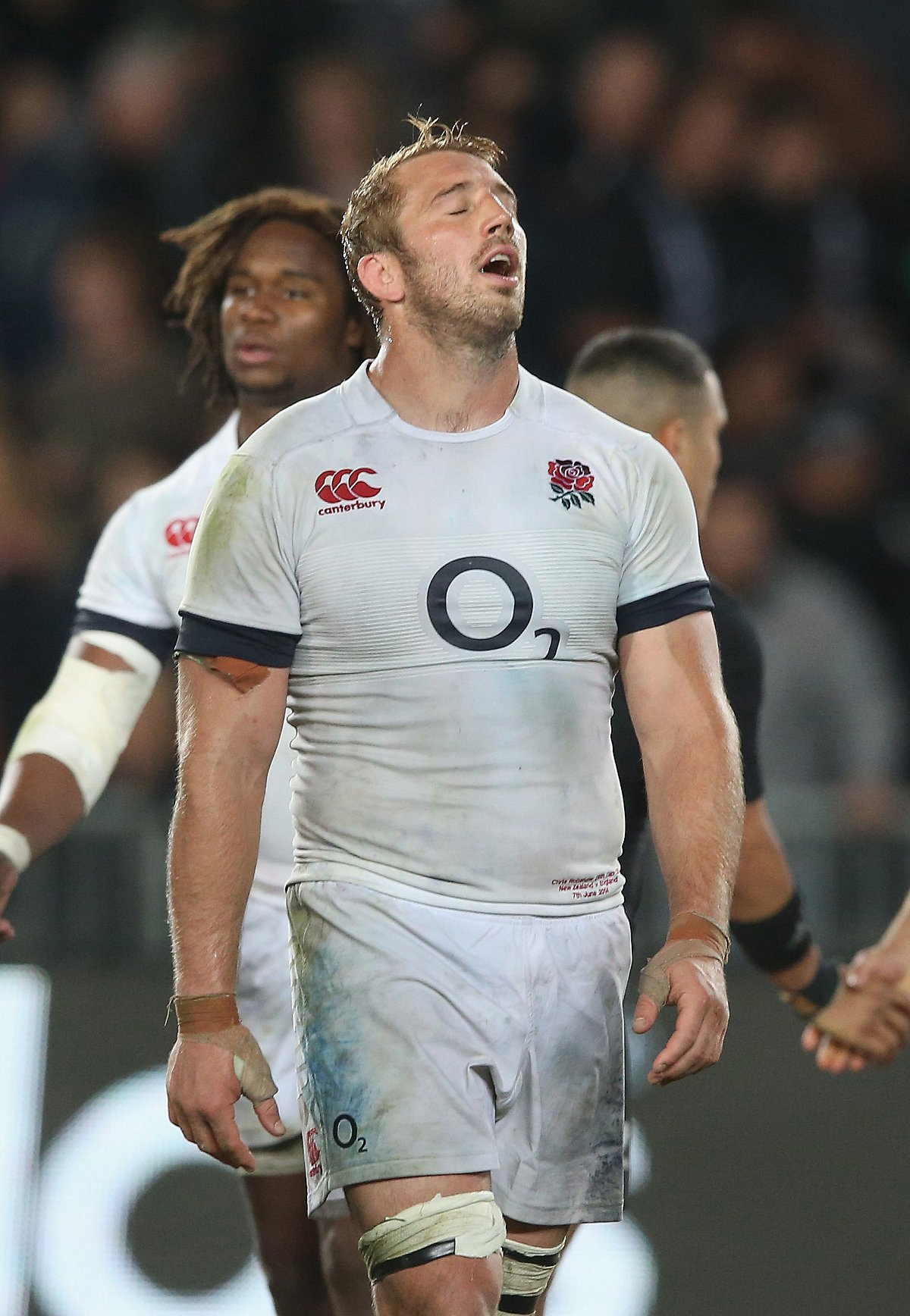 Respect: England captain Chris Robshaw