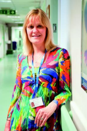 Marion Louki is the new consultant midwife at Epsom and St Helier hospitals
